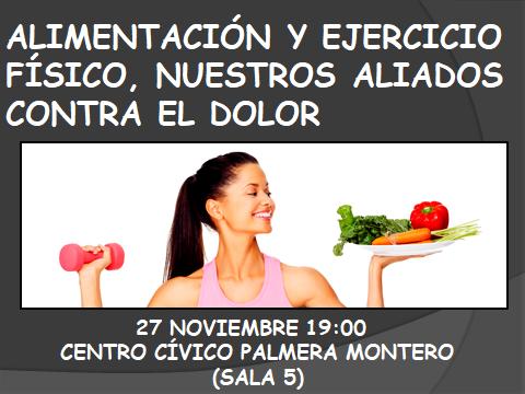 Alimentación y ejercicio físico, nuestros aliados contra el dolor.